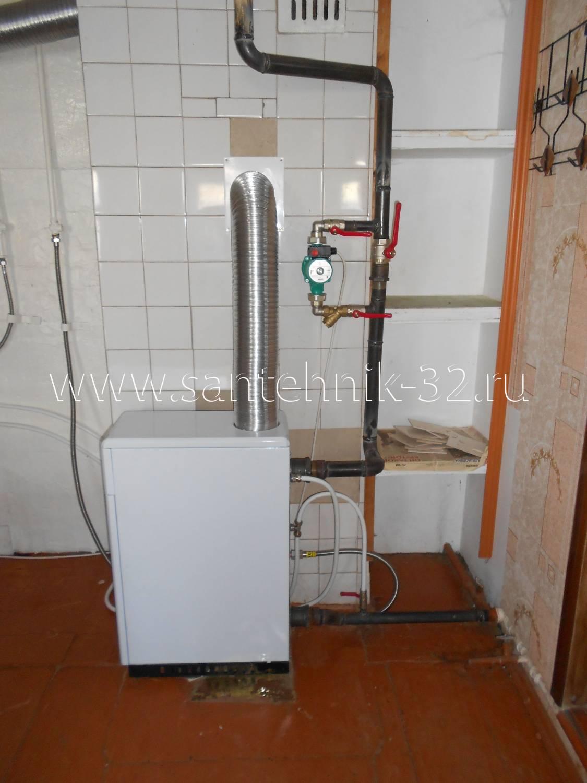 Установка газового котла конорд в частном доме своими руками 73